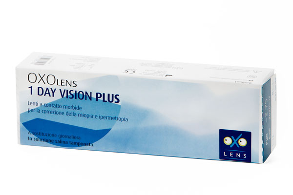 8_OXOLENS 1 DAY VISION PLUS (30 pack)